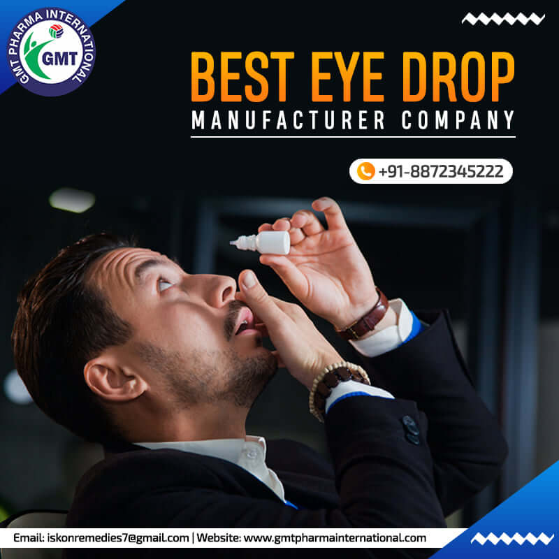 Eye Drops Manufacturing Company in Ahmedabad