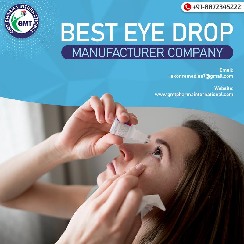 Eye Drops Manufacturer in Punjab
